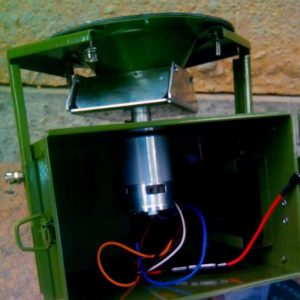 Dispensador automatico jabali 120l. Cinegetica la mancha