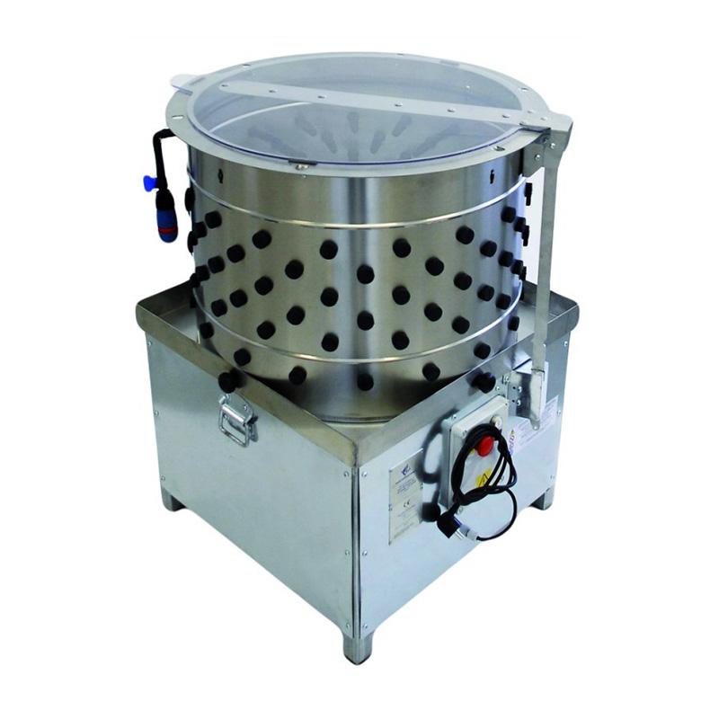 Desplumadora automatica de pollos y pavos. Cinegetica la mancha