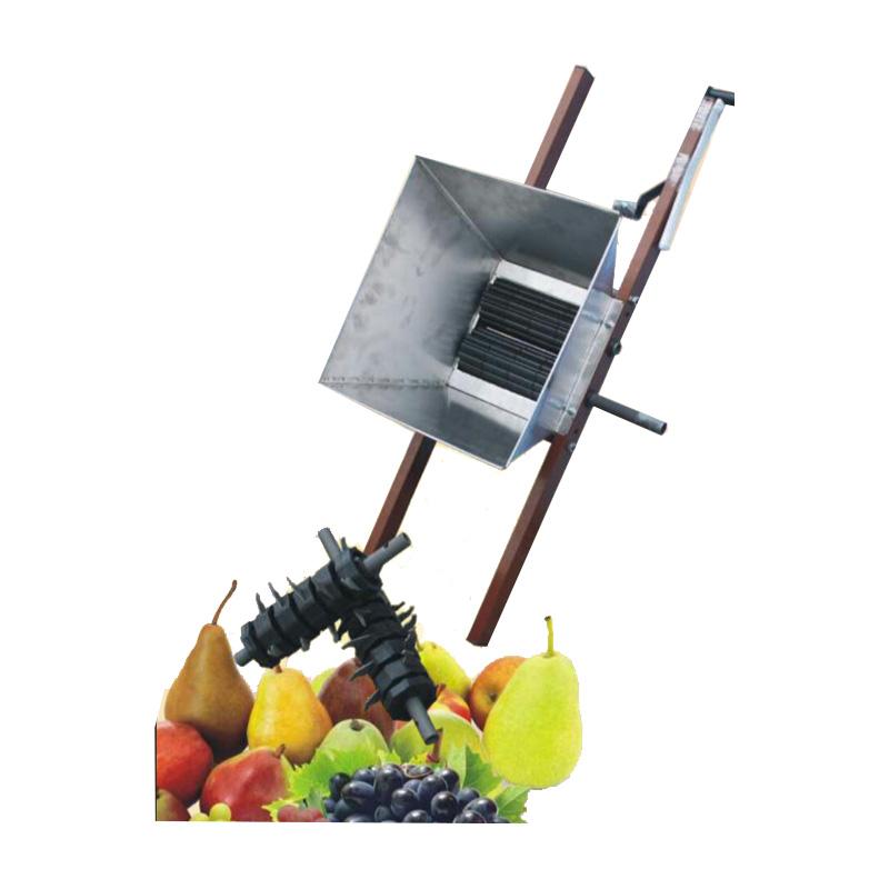 Estrujador uvas y manzanas manual. Cinegetica la mancha
