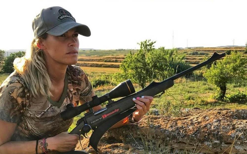 muere una joven cazadora